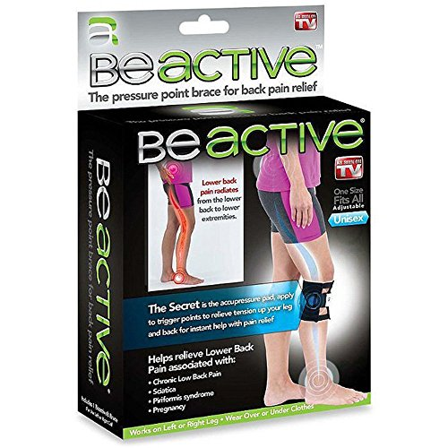 Best Prices! As Seen On TV BeActive Therapeutic Brace-relieve lower back pain and sciatica pressure