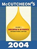 McCutcheon's Emulsifiers and Detergents : International Edition, , 0944254748
