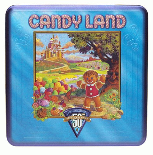 Candy Land 50th Anniversary Game Tin