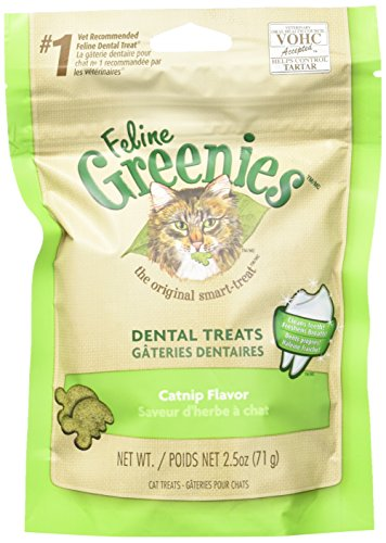 Greenies Feline Catnip 2.5oz (Pack of 6) ()
