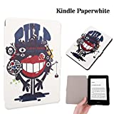 Zaneeta®Case for Amazon Kindle Paperwhite Case ,Premium Coloured drawing and Slim Light Weight Folio Protective Leather Cover with Auto Wake/Sleep for Amazon Kindle Paperwhite.