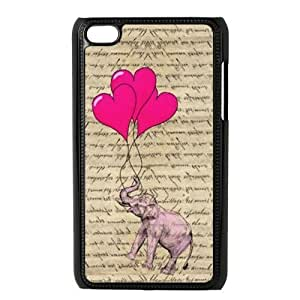 Elephant Hard Back Cover Case for ipod touch 4