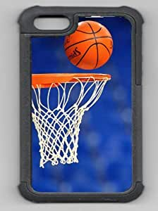 Basketball Scoring Basketball Net Black Rubber Hybrid Decorative iphone 5c Case