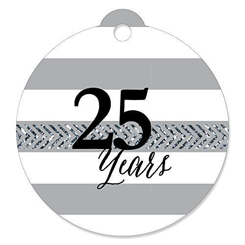 (We Still Do - 25th Wedding Anniversary - Party Favor Gift Tags (Set of 20))