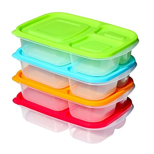 DeXop Containers Stylish Microwavable Compartments