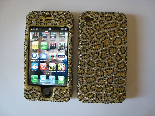 Diamond iphone 4 4S case/full cover Swarovski crystal bling style,Diamante bling top quality