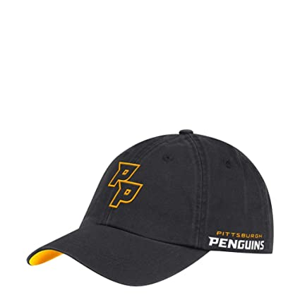 f75a79fe624 Image Unavailable. Image not available for. Color  adidas Pittsburgh  Penguins Men s Dad Hat Adjustable Cap