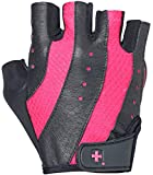 Harbinger Women's Pro Weightlifting Gloves with Vented Cushioned Leather Palm (Pair)