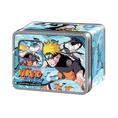 Naruto Shippuden Untouchable TCG CCG Naruto Vs. Sasuke Tin - 1 Gold Foil - 4 Packs ++ (Naruto Ccg Shippuden)