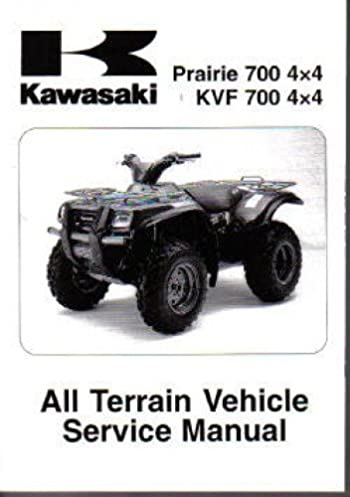 99924 1319 04 2004 2006 kawasaki kvf700 prairie atv service manual rh amazon com kawasaki prairie 360 manual free download 2003 kawasaki prairie 360 service manual