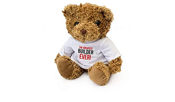 Teddy Bear NEW Cute Cuddly BEST BROKER IN THE WORLD Gift Present Award