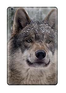 linJUN FENGIpad Mini/mini 2 Case Cover - Slim Fit Tpu Protector Shock Absorbent Case (animal Wolf)