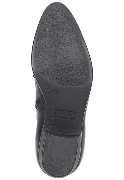 Comfortabel Herren-Stiefel schwarz 660386-1, Gr. 41