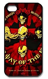 Luxury iPhone 4/4S Case with Five Finger Death Punch Poster The Way Of The Fist Cover and Protective for Apple iPhone 4 4S
