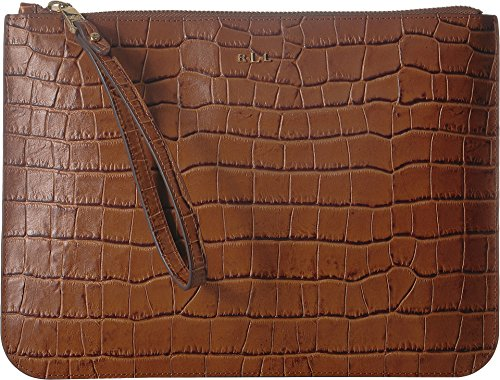 RALPH LAUREN Women's Everything Large Pouch Bourbon One Size