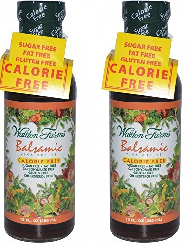 Walden Farms Balsamic Vinaigrette 12 Fl Oz Set Of 2 1 Balsamic vinaigrette Calorie free, sugar free, fat free Blend of aged vinegar, herbs and spices