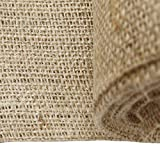 Burlap Fabric, 38-40 Inches Wide, Over 100 Yards in Stock 10 Yard Bolt- 100% Jute - Natural