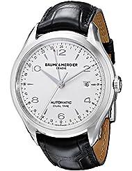 Baume & Mercier Mens BMMOA10112 Clifton Analog Display Swiss Automatic Black Watch