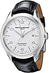 Baume & Mercier Men's BMMOA10112 Clifton Analog Display Swiss Automatic Black Watch