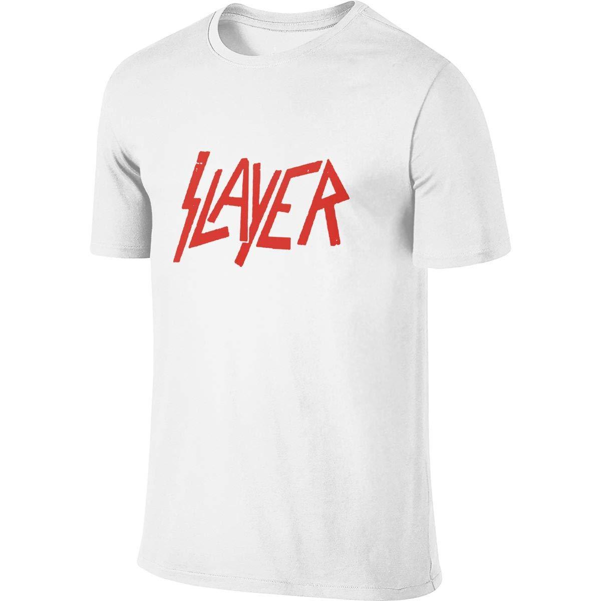 Mans Tshirts Slayer Band Novelty Shirt Tee