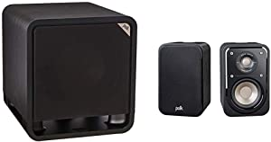 """Polk Audio HTS 10 Powered Subwoofer with Power Port Technology 