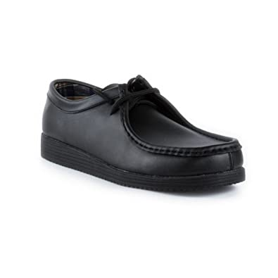 BECKETT CORP. Beckett Mens Leather Lace Up Shoe in Black - Size 6 UK -