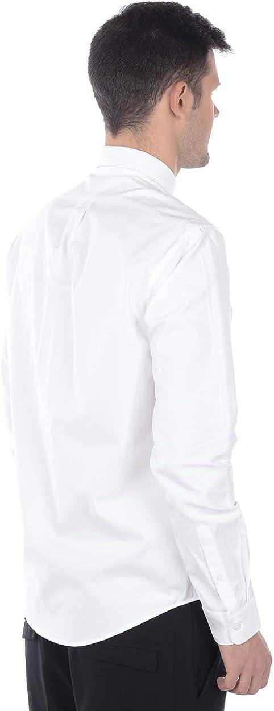 Kenzo Mens Tiger Crest Cotton Poplin Shirt