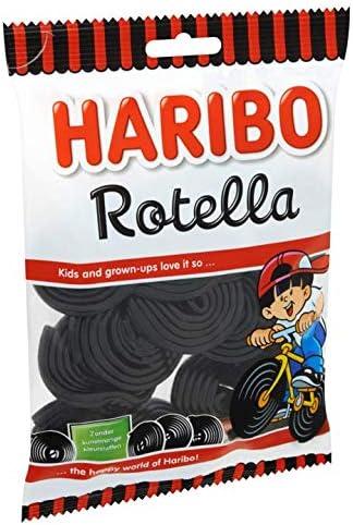 Haribo Rotella Licorice | Bolsa de 8.82oz / 250gr: Amazon.es ...