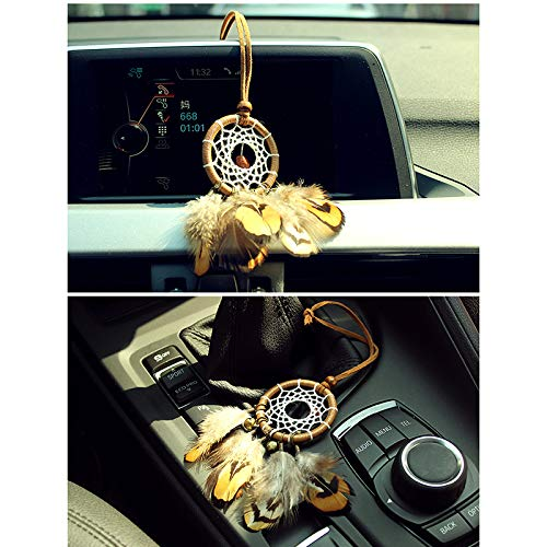 MoGist Indian Handmade Dreamcatcher Pendant Car Ornament Feather Ornament by MoGist (Image #2)