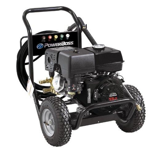 PowerBoss 20454 3800 PSI 4.0 GPM Honda GX390 389cc Engine with Triplex Plunger Pump Gas Pressure Washer (Pressure Cleaner Honda compare prices)