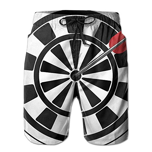 Price comparison product image GSSHA Be Bold Be Brave Be You Arrow Men's Beach Shorts Pants Summer Men Beach Pants X-Large