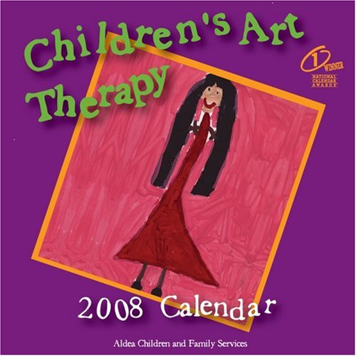 Children's Art Therapy 2008 Monthly Wall Calendar