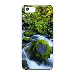 New Fashionable MeSusges GbiGHap1747IYbTM Cover Case Specially Made For Iphone 5c(fiddlehead Fern Westl National Park New Zeal)