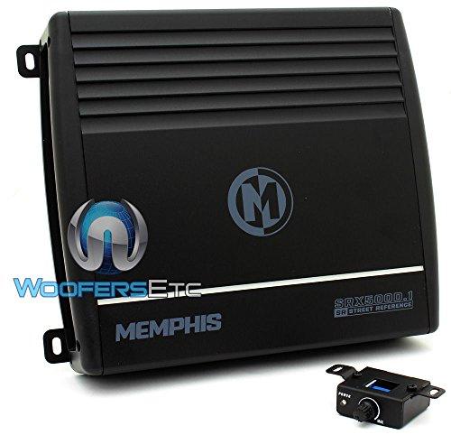 16-SRX500D.1 - Memphis Monoblock 500W RMS 1000W Max Street Amplifier