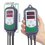 51WYHGm7vKL. SS150  - Inkbird ITC-308 Wlan Thermostat,Heizen Kühlen Steckdose Temperaturregler Fernsteuerung per App -
