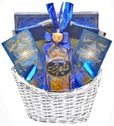 Eight Days Of Hanukkah Gourmet Food Gift Basket