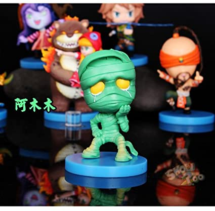 Amazon.com: Set of 6 LOL League of Legends EZ Ezreal amumu ...