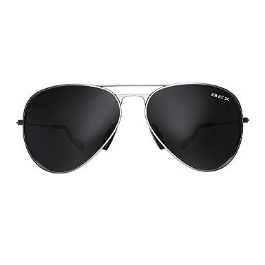 Amazon.com: Bex anteojos de sol Wesley degradado lente Marco ...