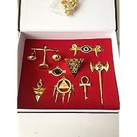 Yu-Gi-Oh! Yugioh Necklace & Keychain Set by bossteng