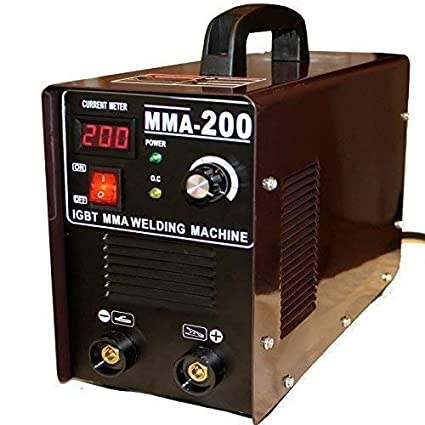 Máquina Soldadora Igbt Mma 200 Inverter Mma Lift-Zündung Inverter Amperios Incl. Soldadura