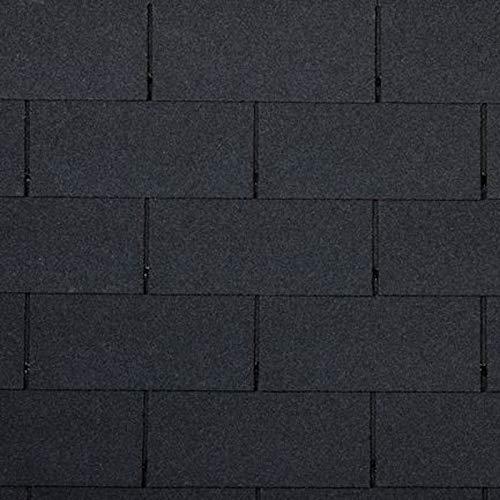 f/ür 3m/² Dachfl/äche Dach Bitumenschindeln Dach Ziegel Abdichtung Bitumen Dachschindeln Biber ziegelrot 21 St/ück