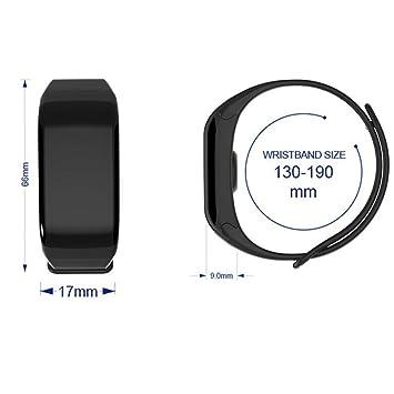 F1 Pulsmesser Plus Armband F601 Bluetooth Hoyhpk Bunte Band Smart rstQdhxC