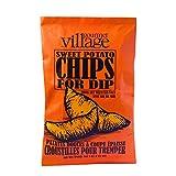 Gourmet du Village Chips Thick Cut Sweet Potato, 142 Gram