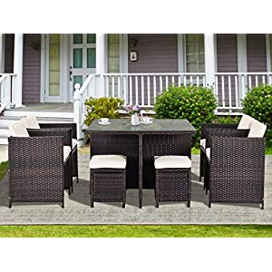 51WYIFuOWjL._SS300_ Wicker Dining Tables & Wicker Patio Dining Sets