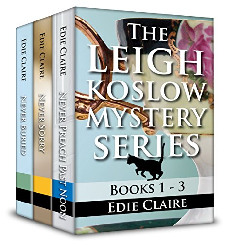 The Leigh Koslow Mystery Series: Books One, Two, and Three: Boxed Set cover