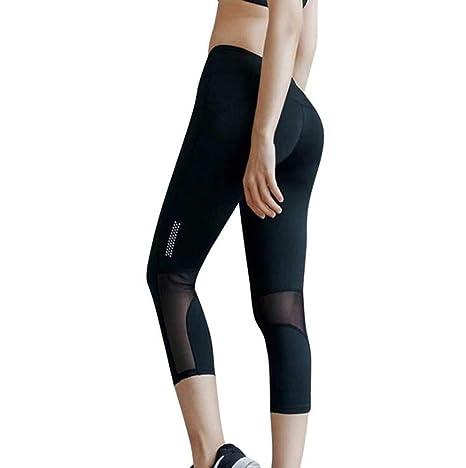 Sddlng Pantalones de chándal para Mujer: Pantalones de Yoga ...