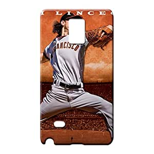 samsung note 4 Protection forever pattern cell phone carrying skins san francisco giants mlb baseball