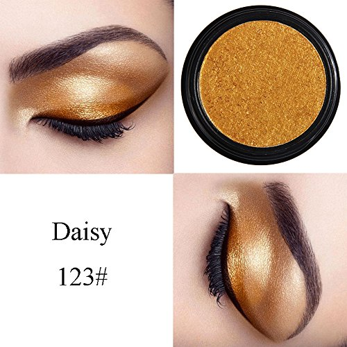 Elaco Glitter Shimmering Colors Eyeshadow Shadow Powder Rainbow Makeup Beauty Shadow Palette Colors Makeup Kit Eye Color Palette Halloween Makeup Palette Matte and Shimmer Eye Cosmetic (W)