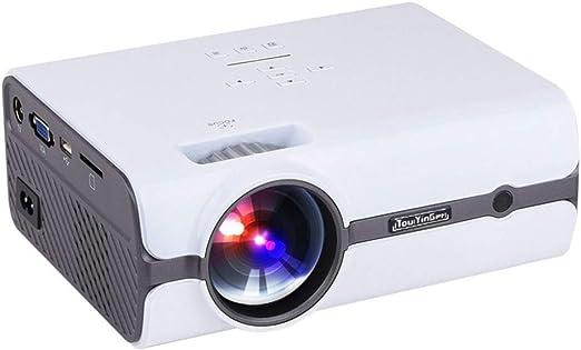 ZCCZ-AA Proyector Foco Corto de T3 Mini proyector Led Mini ...