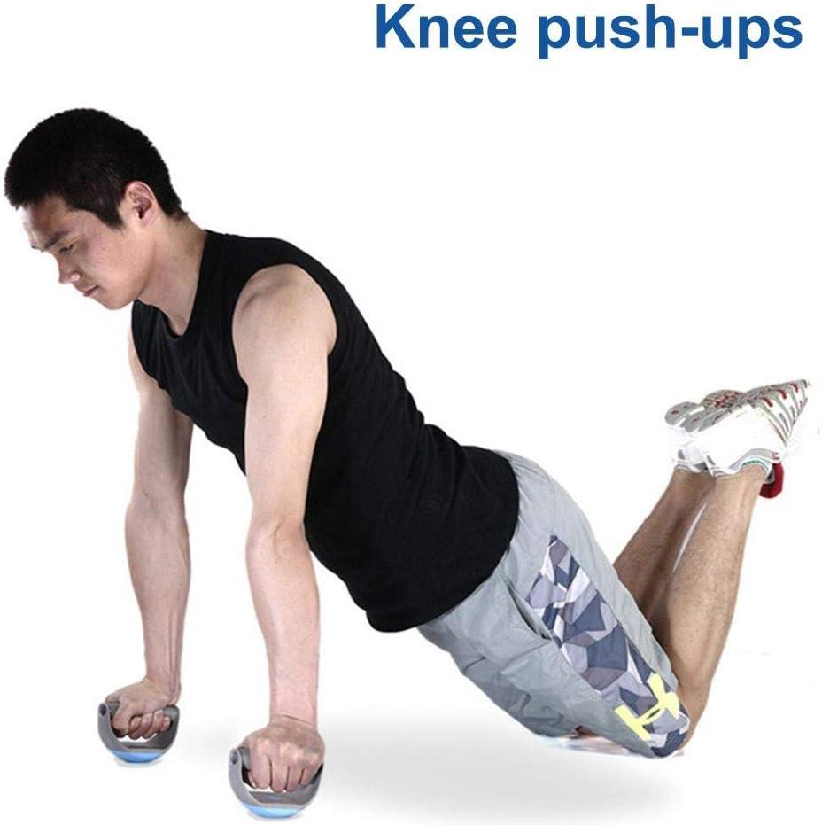pegtopone Push-up Bracket Board Runde 360 /° Drehbare Brust ABS Grip Bracket Abdominal Device Tragbare Multifunktionale Muskeltrainingssystem Fitness Muscle Arm Training
